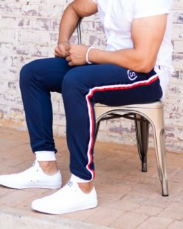 Mens Classic Striped Navy