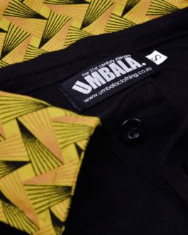 Buhle Golf Shirt – Black