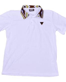 Buhle Golf Shirt – White