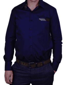 Nkosana Lounge Shirt – Navy