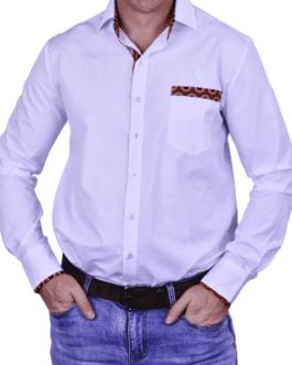 Nkosana Lounge Shirt – White