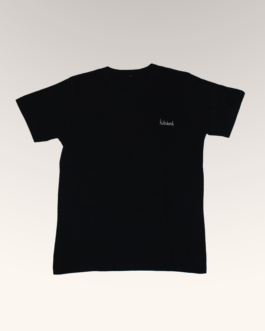 hitched black tee