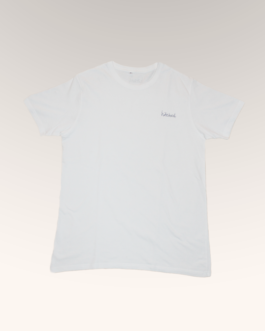 hitched white tee